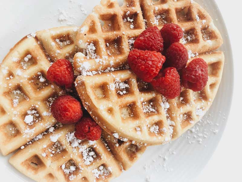 Grain-free Bone Broth waffles